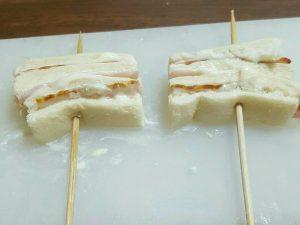 パンの耳串カツ 画像