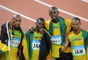 ジャマイカ リレー 画像
