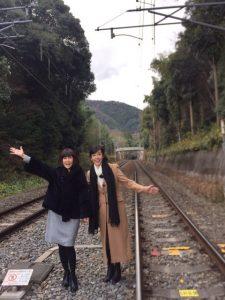 松本伊代 線路 画像