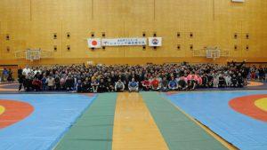 レスリング 全日本マスターズ選手権 画像