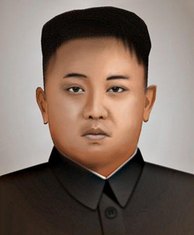 金正恩 画像