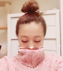 鈴木奈々 お団子ヘア 画像
