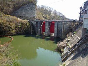 湯川ダム 画像