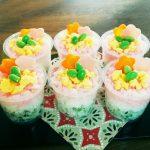 ひな祭り カップ寿司 画像