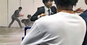 欅坂46 発煙筒事件 画像