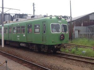 幽霊電車 銚子 仲ノ町駅 画像