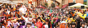 川崎ハロウィン パレード ミニオンラン 画像