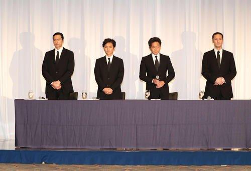 TOKIO 記者会見 ホテル 会場 場所 どこ 画像