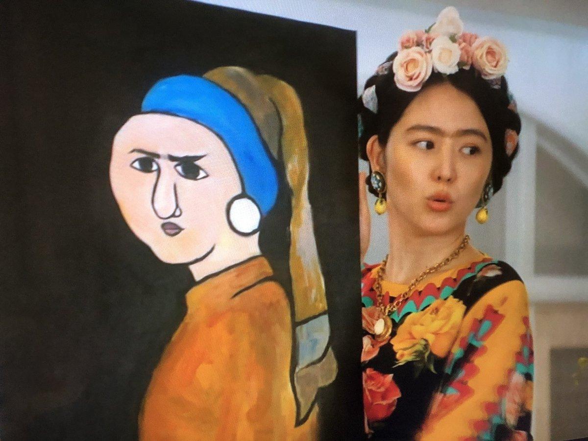 コンフィデンスマンJP 月9 ドラマ 第5話 フェルメール 画像