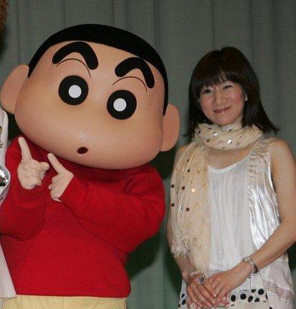 矢島晶子 声優 後任 クレヨンしんちゃん 野原しんのすけ 画像